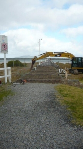 Long Jetty - Beginning of Works