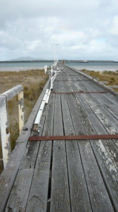 Long Jetty - Beginning of Works Two